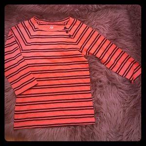 🆕 Joe Fresh ⚓️ Nautical Orange/ Blue shirt ⚓️